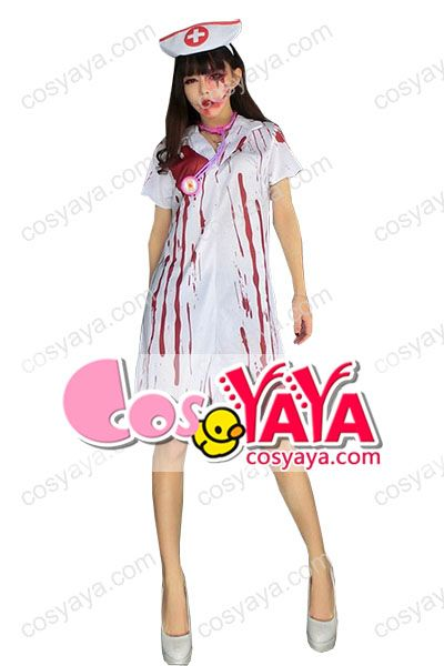 看護師ハロウインコスプレ衣装
