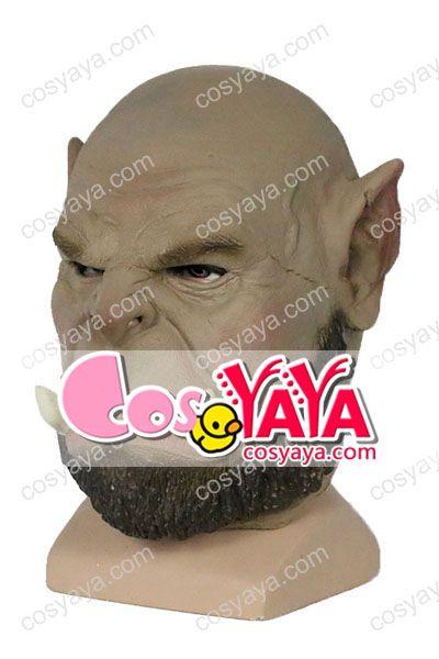 Ogrim Doomhammerハロウインお面