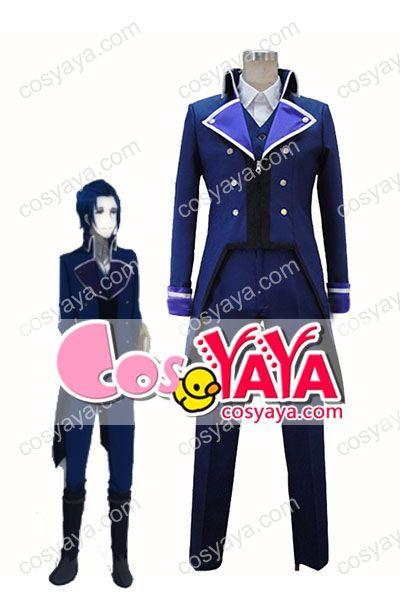 K RETURN OF KINGS青のクラン・セプター4コスプレ衣装