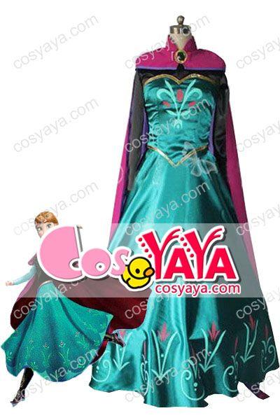 アナと雪の女王エルサコスチューム衣装
