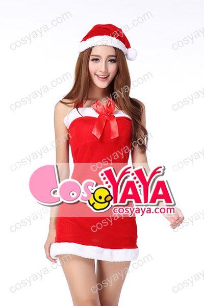 セクシーレディースクリスマスサンタ衣装
