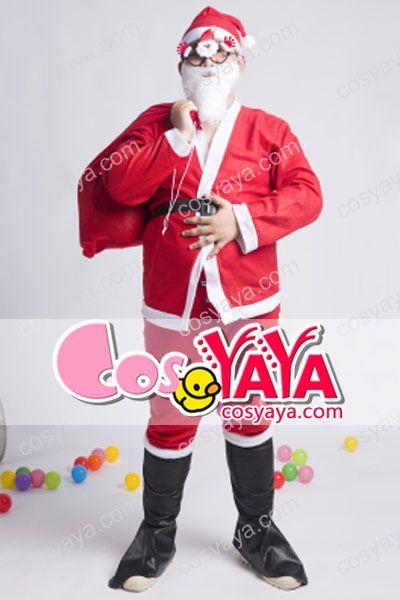 クリスマスサンタクロース仮装衣装