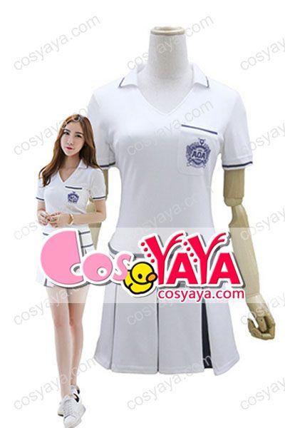 AOAHeart Attackホワイトワンピース衣装激案