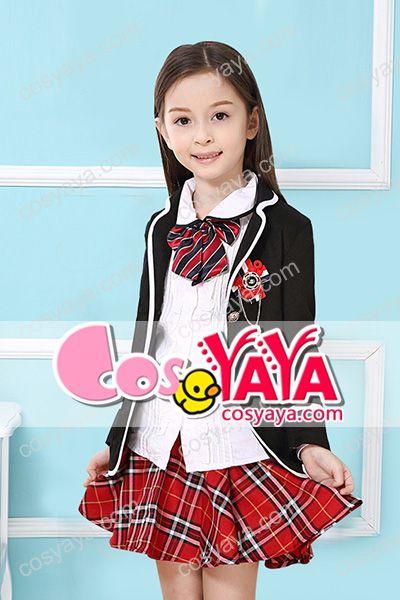 女の子小学生制服コスプレ衣装