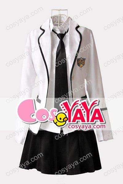 ホワイト韓国女子学生制服