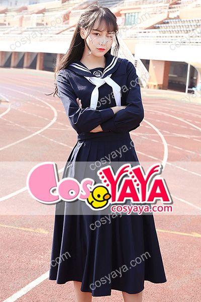 JK風女子学生セーラー服