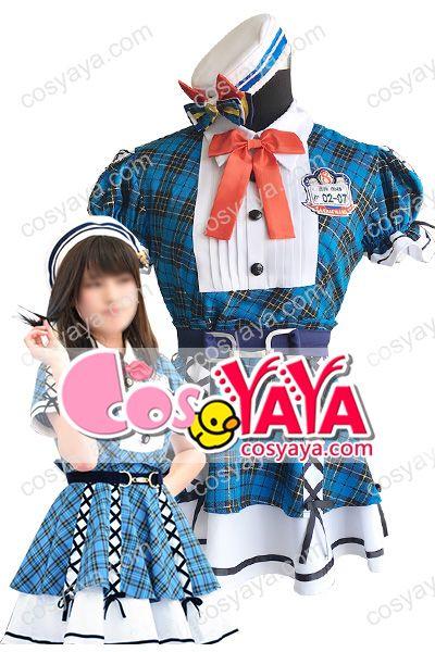 AKB48 Team8発表会イベント制服衣装