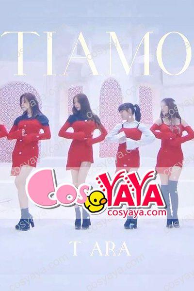 T-ARAティアラワンピースダンス制服衣装