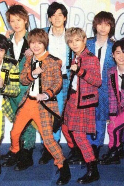 Hey!Say!JUMPステージ演出服