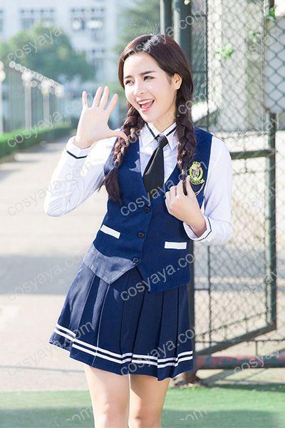 海軍制服風女子制服衣装