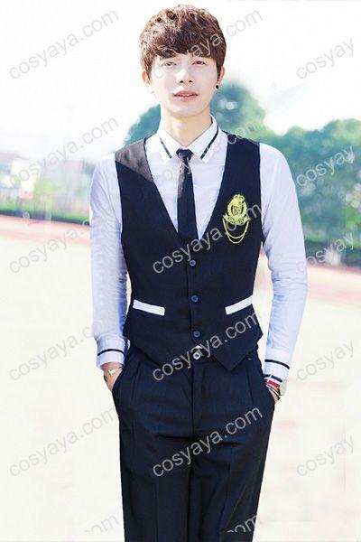韓国男子海軍風学園制服