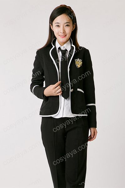 韓国女子スーツ風制服衣装