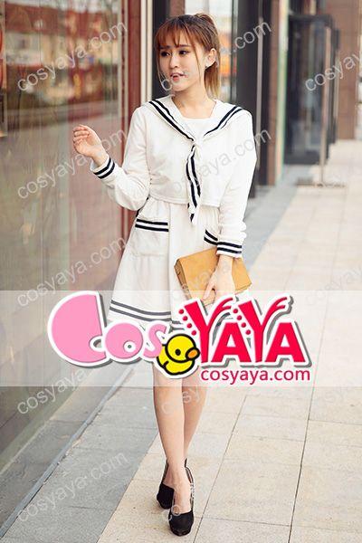 JK学生セーラー服コスプレ衣装