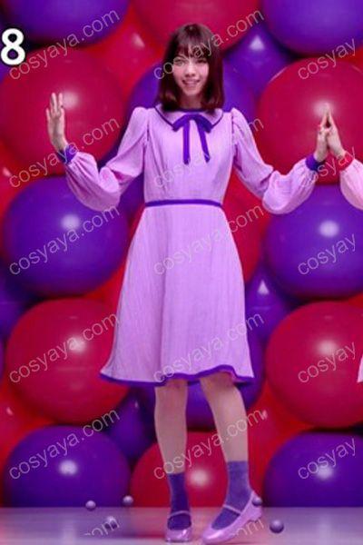 乃木坂46JUICY UP!」ブルボン フェットチーネグミコスプレ衣装