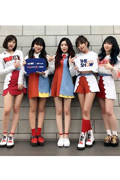 Red Velvet Rookieダンス演出服