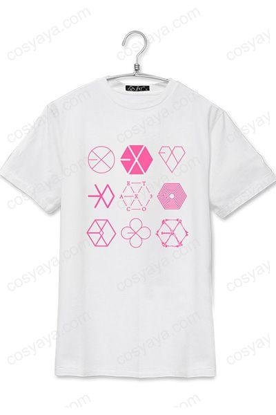 EXO コンサート 応援服Tシャツ