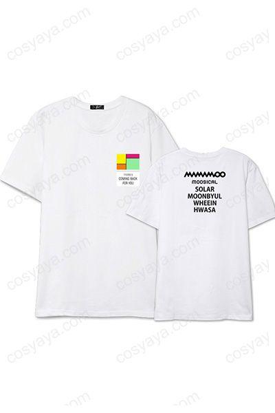 MAMAMOOライブ応援Tシャツ衣装