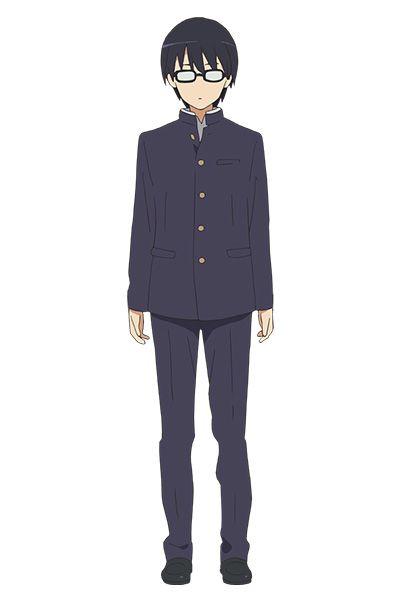 冴えカノ安芸倫也学生制服コスチューム