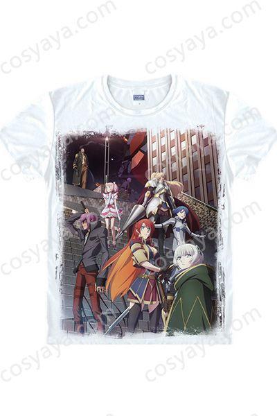 軍服の姫君コスプレ衣装Tシャツ風