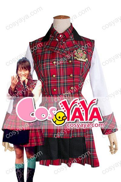 nmb48恋愛禁止条例ワンピース制服衣装
