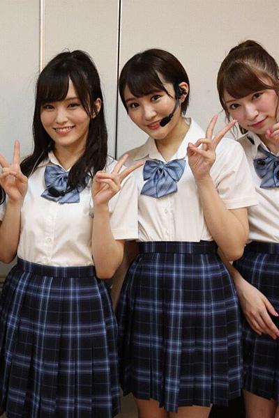 NMB48サササ サイコー制服コスプレ衣装