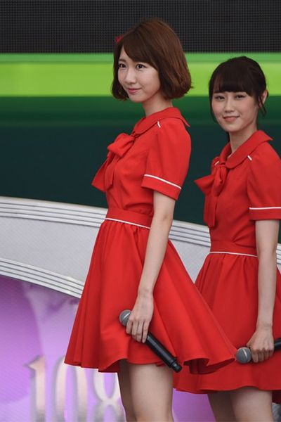 NGT48 TIF赤いワンピース衣装通販