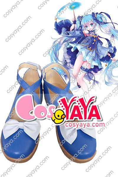 雪ミク2017コスプレ靴