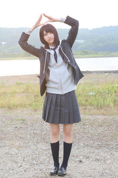 欅坂46 土生瑞穂避雷針制服衣装