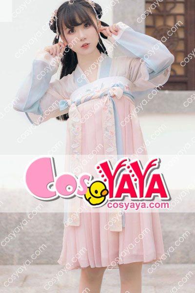 中華風 ドレス衣装 夏 刺繍