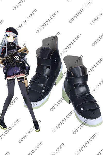 少女前線 HK416 コスプレ靴