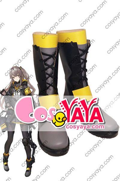 少女前線UMP45 コスプレ靴 ブーツ安価