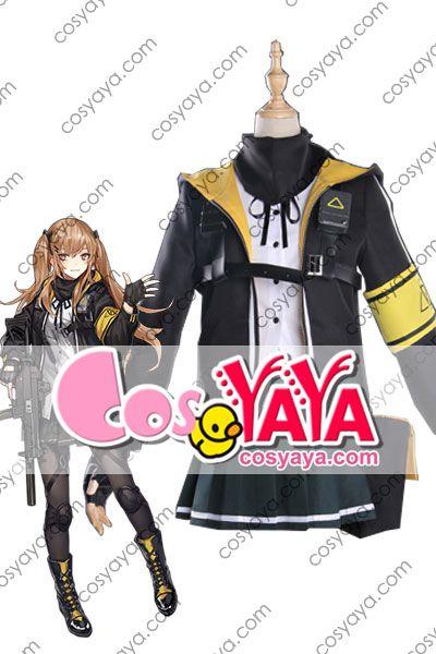 少女前線 UMP9 コスプレ衣装