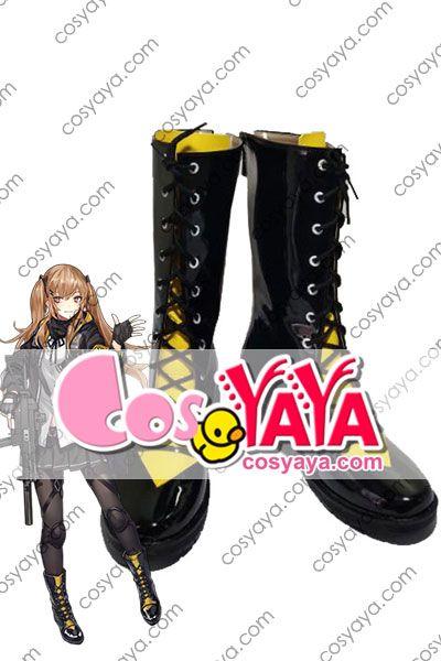 少女前線 日本 UMP9コスプレ靴
