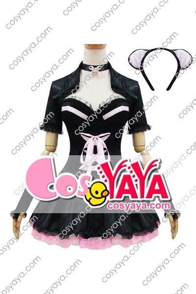 メイド服 ブラック 色気