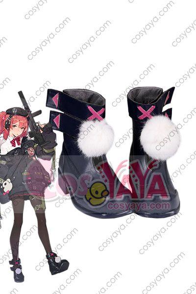少女前線 MP7 コスプレ靴