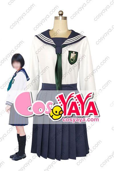 欅坂46制服のマネキン セーラー服