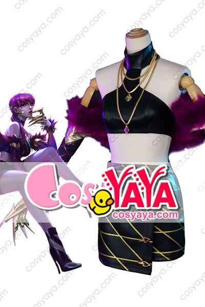 LOL イブリン コスプレ KDA衣装