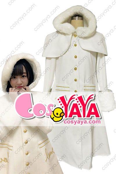 イコラブ 白コート 可愛い