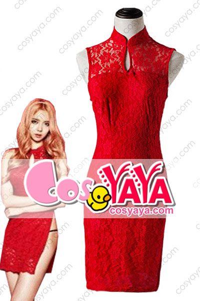 韓国stellarチャイナドレスワンピース制服衣装