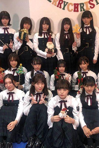 欅坂46 CDTV二人セゾン 衣装