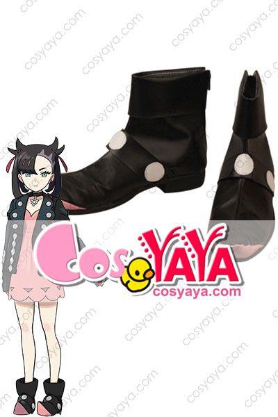 ポケモンソードシールド マリィ 靴