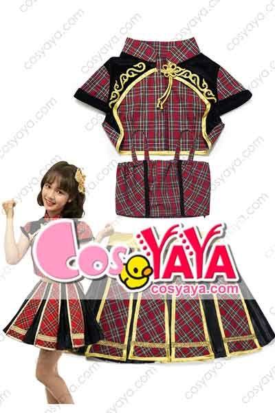 AKB48 TEAM SH 制服衣装