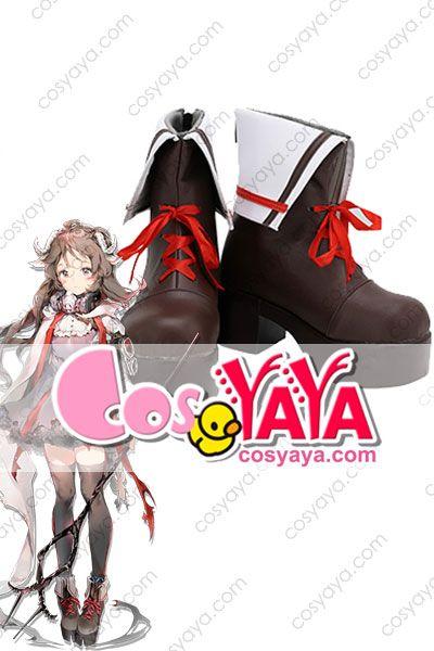 エイヤフィヤトラ コスプレ靴 オーダーメイド