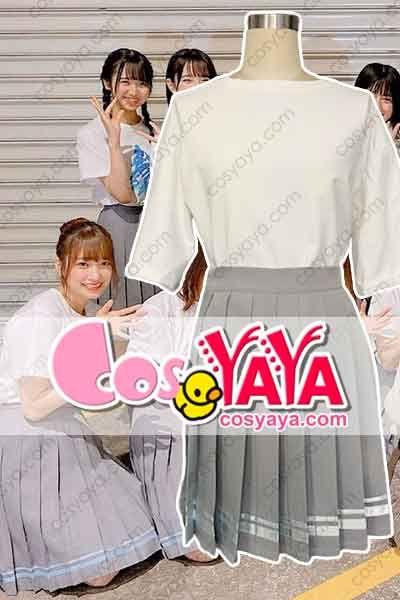 日向坂46 制服スカート二本線