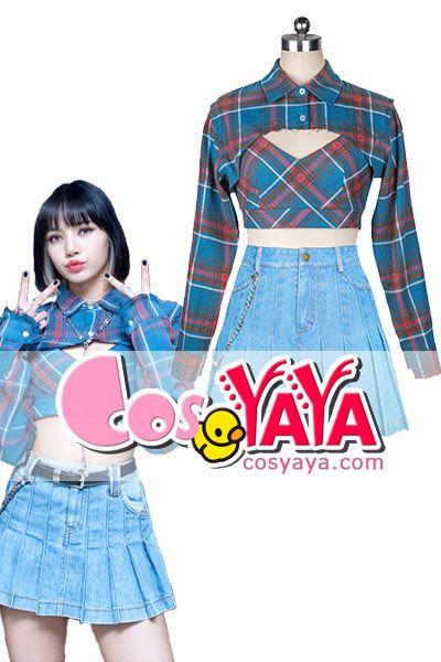 BLACKPINK Lisa ダンス衣装Lovesick Girls