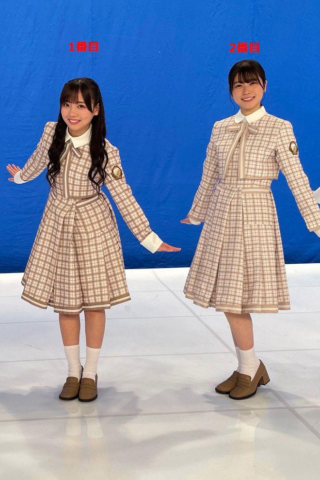 日向坂46 5thシングル「君しか勝たん」制服