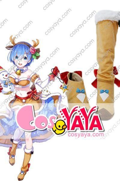 レム クリスマス コスプレ靴
