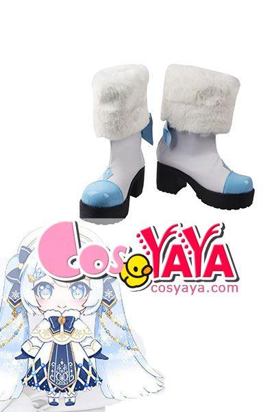 雪ミク2021コスプレ靴