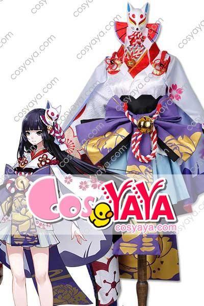 雪女 月見の桜 コスプレ衣装