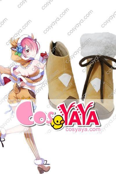 リゼロ×白猫ラム クリスマス コスプレ靴